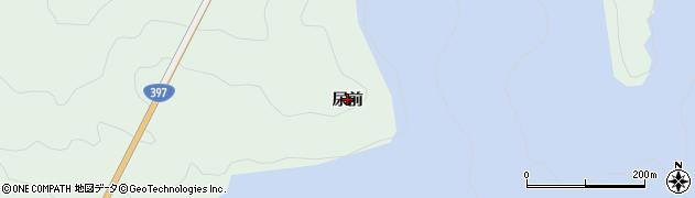 岩手県奥州市胆沢若柳(尿前)周辺の地図