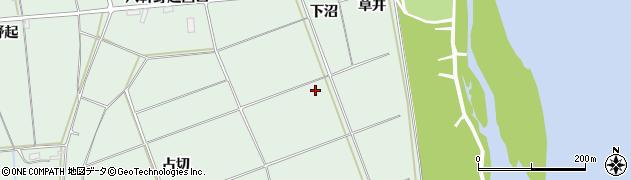 岩手県奥州市水沢姉体町(伊手迎)周辺の地図