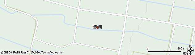 岩手県奥州市胆沢若柳(赤剥)周辺の地図