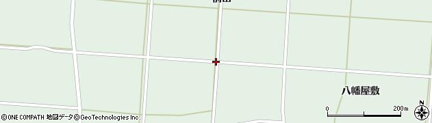 岩手県奥州市胆沢若柳(上谷地)周辺の地図