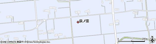 岩手県奥州市胆沢南都田(荻ノ窪)周辺の地図