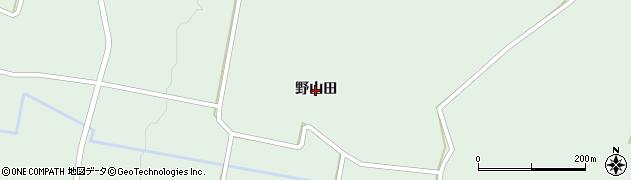 岩手県奥州市胆沢若柳(野山田)周辺の地図