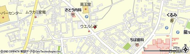 岩手県奥州市水沢(桜屋敷)周辺の地図