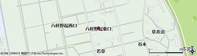 岩手県奥州市水沢姉体町(八軒野起東口)周辺の地図