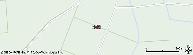 岩手県奥州市胆沢若柳(土橋)周辺の地図