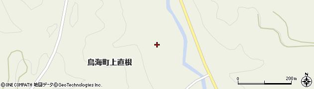 秋田県由利本荘市鳥海町上直根(タカノス)周辺の地図