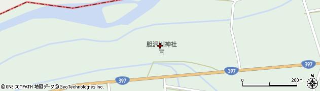 岩手県奥州市胆沢若柳(下堰袋)周辺の地図