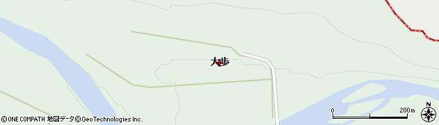 岩手県奥州市胆沢若柳(大歩)周辺の地図