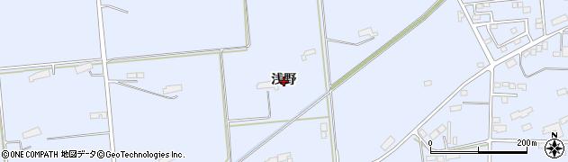 岩手県奥州市胆沢南都田(浅野)周辺の地図