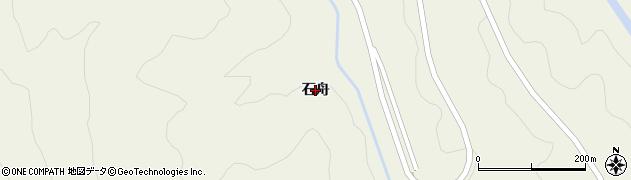 秋田県由利本荘市鳥海町上直根(石舟)周辺の地図