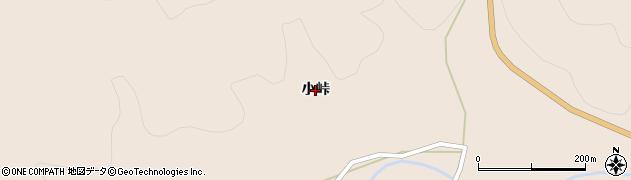 岩手県奥州市江刺田原(小峠)周辺の地図