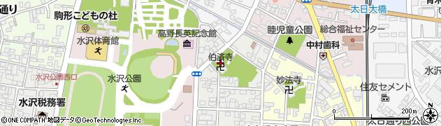 伯済寺周辺の地図