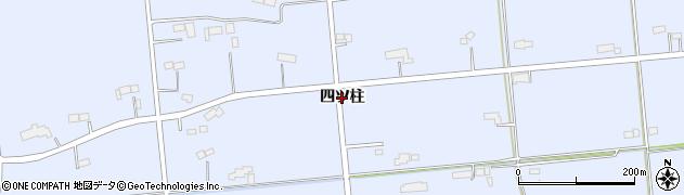 岩手県奥州市胆沢南都田(四ツ柱)周辺の地図