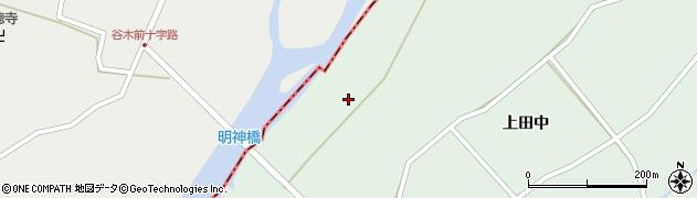 岩手県奥州市胆沢若柳(明神川原)周辺の地図