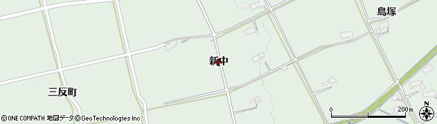 岩手県奥州市胆沢若柳(新中)周辺の地図