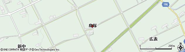 岩手県奥州市胆沢若柳(島塚)周辺の地図
