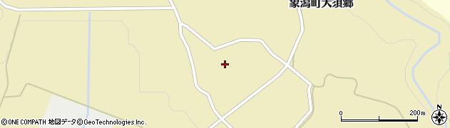 秋田県にかほ市象潟町大須郷雨谷地18-2周辺の地図