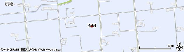 岩手県奥州市胆沢南都田(石田)周辺の地図