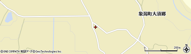 秋田県にかほ市象潟町大須郷雨谷地32周辺の地図