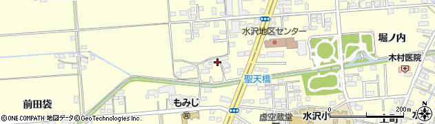 岩手県奥州市水沢(聖天)周辺の地図