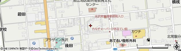 岩手県奥州市水沢佐倉河(東沖ノ目)周辺の地図
