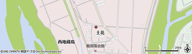 岩手県奥州市江刺愛宕(土花)周辺の地図