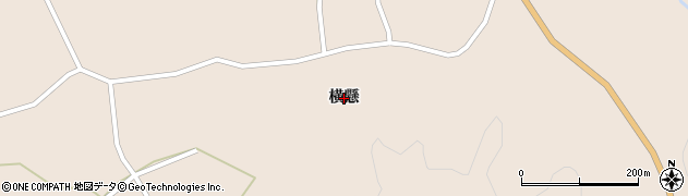 岩手県奥州市江刺田原(横懸)周辺の地図