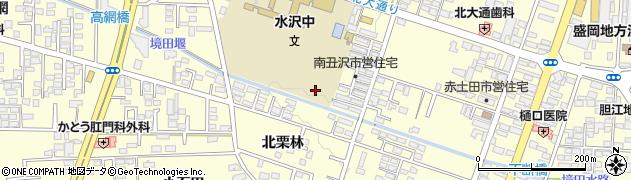岩手県奥州市水沢(南丑沢)周辺の地図