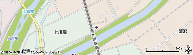 岩手県奥州市水沢羽田町(上川端)周辺の地図