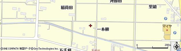 岩手県奥州市水沢(一本柳)周辺の地図