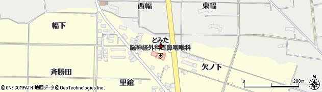 岩手県奥州市水沢(欠ノ下)周辺の地図