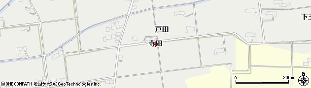 岩手県奥州市水沢佐倉河(寺田)周辺の地図