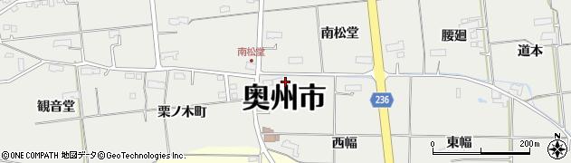 岩手県奥州市水沢佐倉河(西幅)周辺の地図