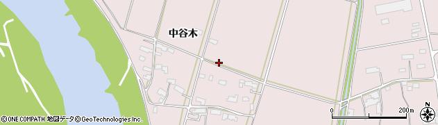 岩手県奥州市江刺愛宕(中谷木)周辺の地図