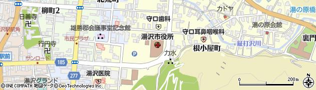 秋田県湯沢市の地図 住所一覧検索|地図マピオン
