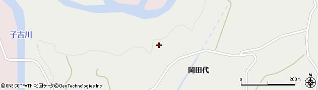 秋田県由利本荘市鳥海町下直根(立居地)周辺の地図