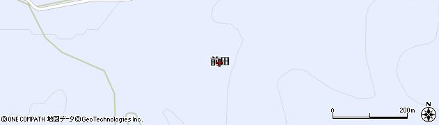 岩手県奥州市江刺藤里(前田)周辺の地図