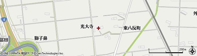 岩手県奥州市水沢佐倉河(光大寺)周辺の地図