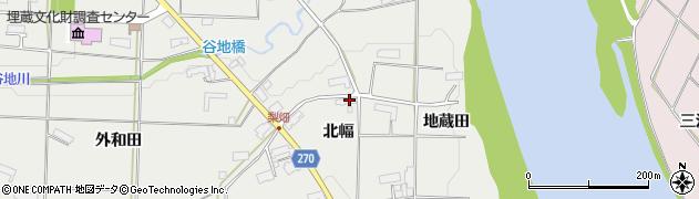 岩手県奥州市水沢佐倉河(北幅)周辺の地図