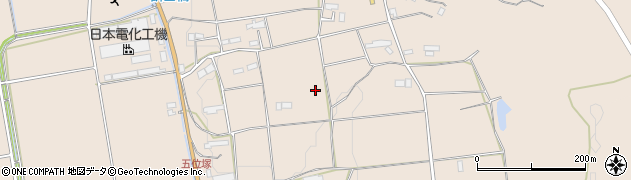 岩手県奥州市江刺岩谷堂(五位塚)周辺の地図