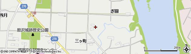 岩手県奥州市水沢佐倉河(祗園)周辺の地図