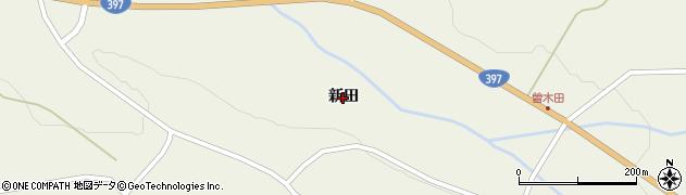岩手県奥州市江刺伊手(新田)周辺の地図