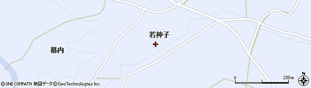 岩手県奥州市江刺藤里(若神子)周辺の地図