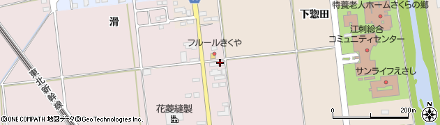 岩手県奥州市江刺愛宕(朴ノ木)周辺の地図