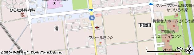 岩手県奥州市江刺岩谷堂(杉ノ町)周辺の地図