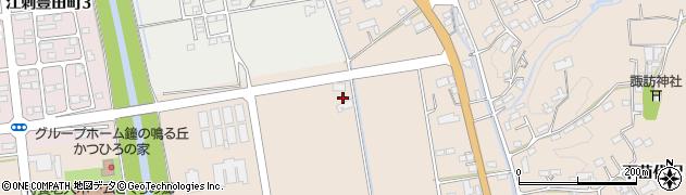 岩手県奥州市江刺岩谷堂(反町)周辺の地図