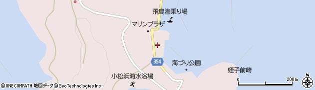 山形県酒田市飛島勝浦乙7周辺の地図