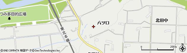 岩手県奥州市水沢佐倉河(八ツ口)周辺の地図