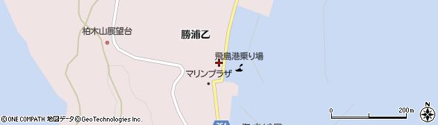 山形県酒田市飛島勝浦乙177周辺の地図