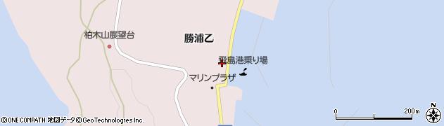 山形県酒田市飛島勝浦乙117周辺の地図